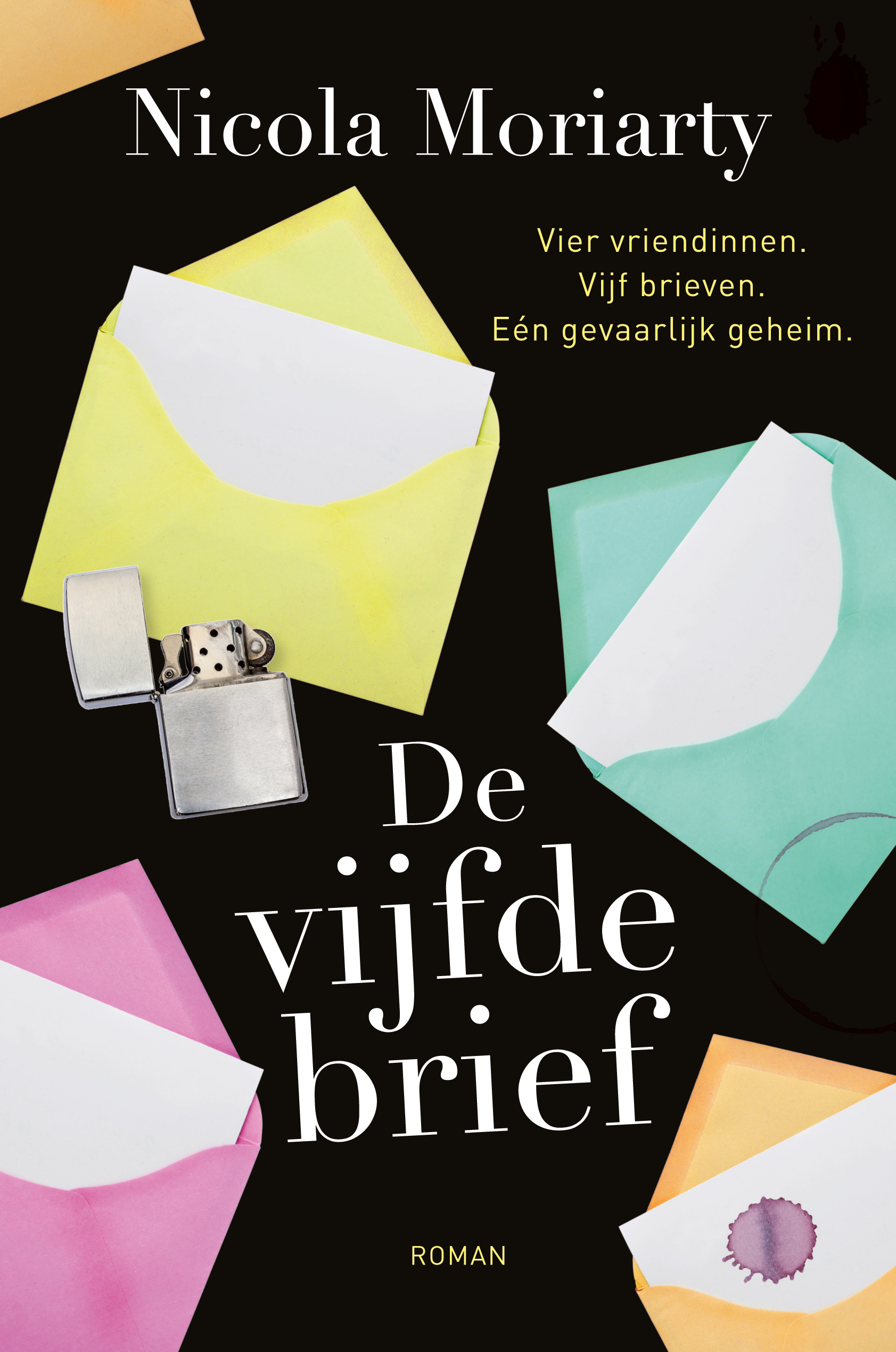 Cover De vijfde brief