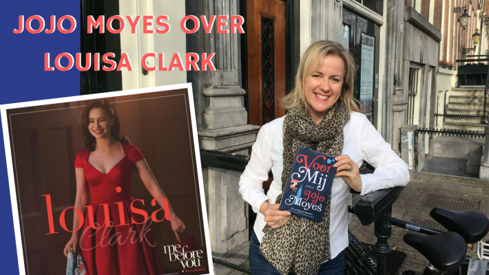 Jojo Moyes over Louisa Clark