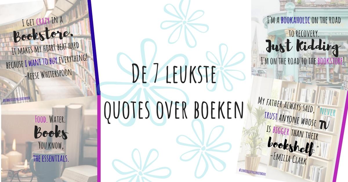 De leukste quotes over boeken