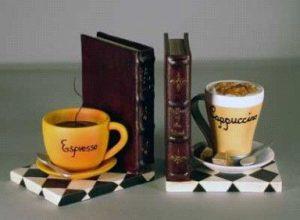 Boekensteun koffie