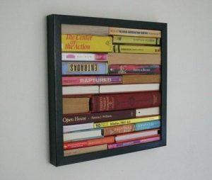 boeken schilderij