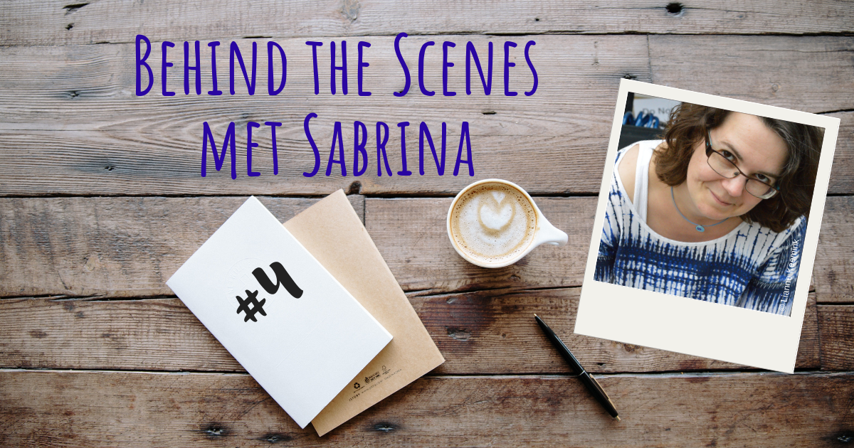 Behind the scenes met Sabrina 4