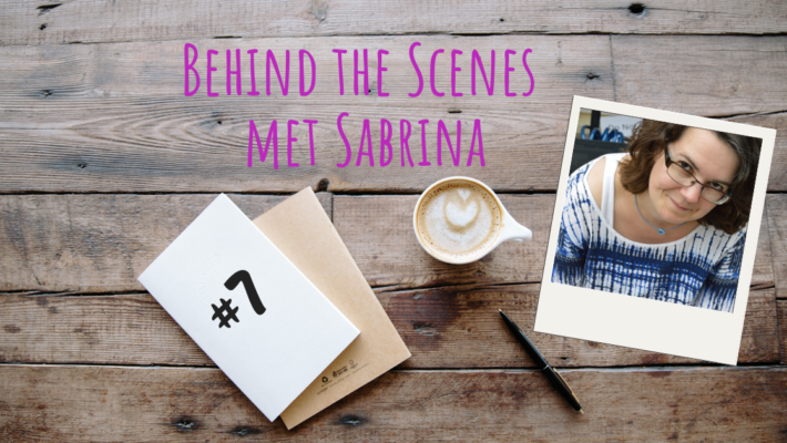 Behind the scenes met Sabrina 7