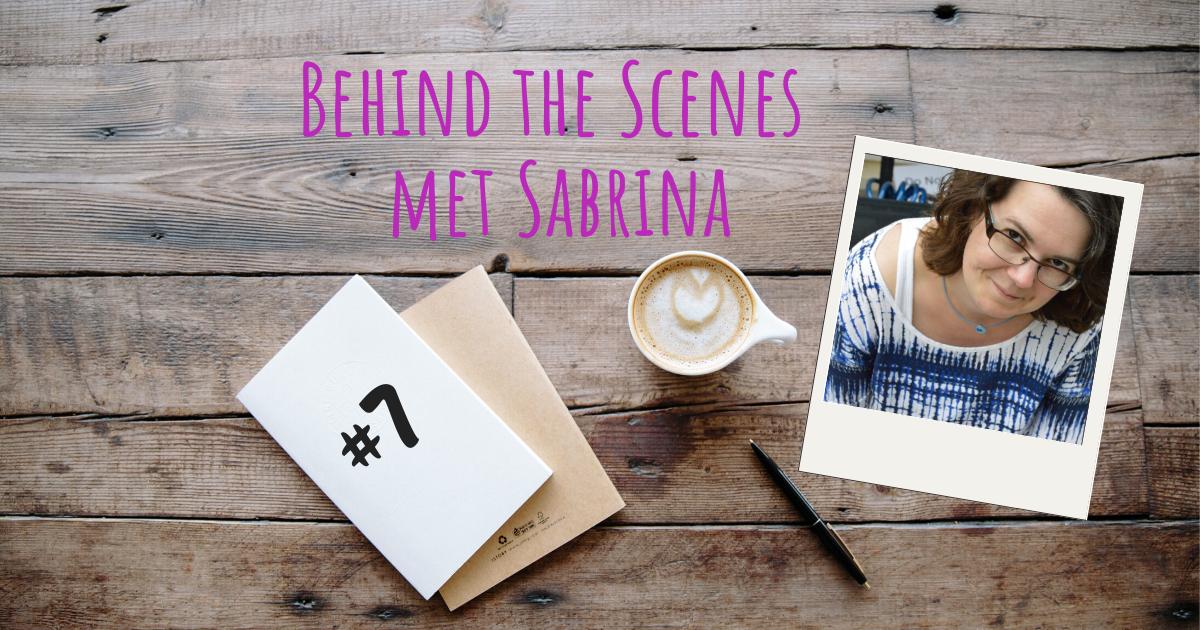 Behind the scenes met Sabrina 7