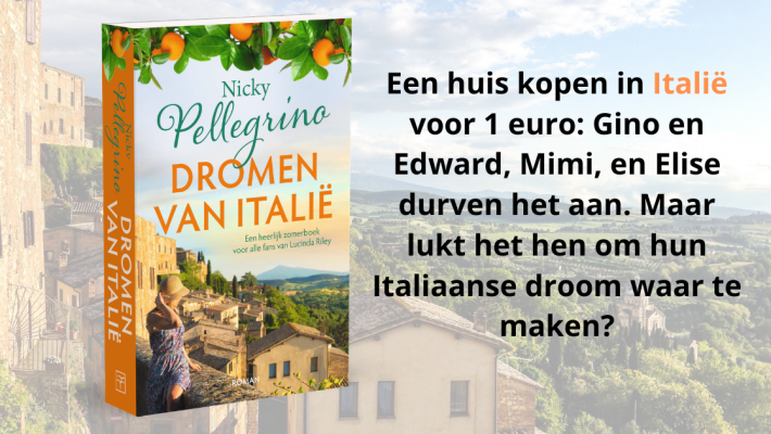 Banner Dromen van Italië