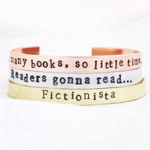 Booklover armbanden