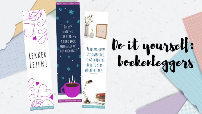 Banner DIY boekenleggers