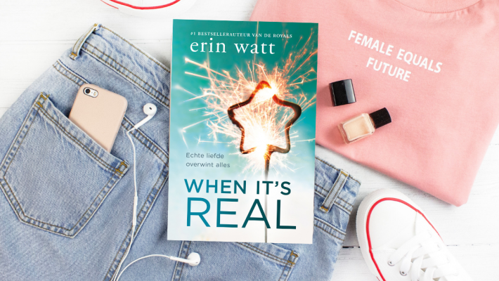 Erin Watt - When it's real FB banner
