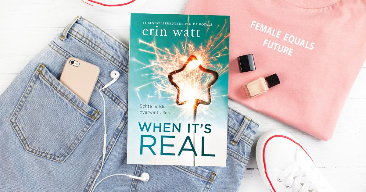 Erin Watt - When it's real FB banner