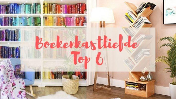 Boekenkastliefde top 6 - 12