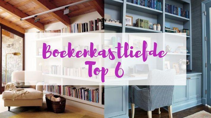 Boekenkastliefde top 6