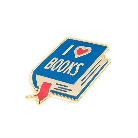 bookpins i love