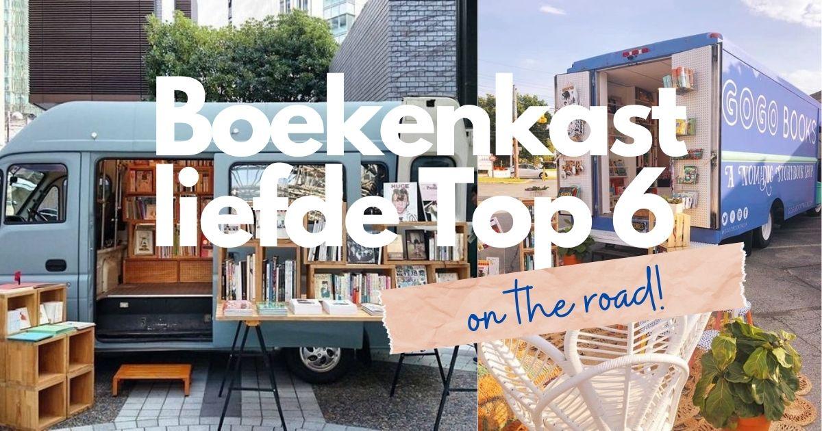 Boekenkastliefde - on the road